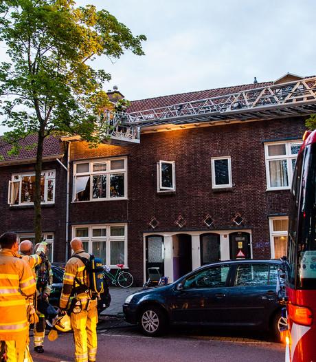 Gewonde door brand in Zuilen