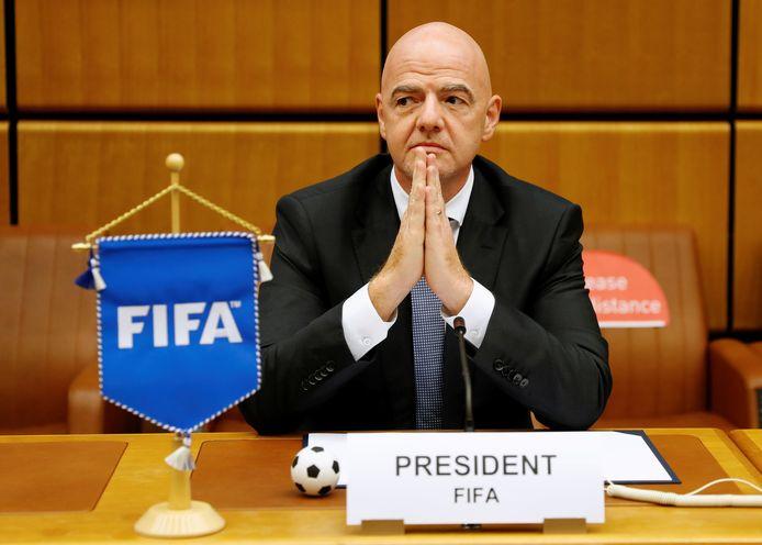 Gianni Infantino, président de la FIFA.