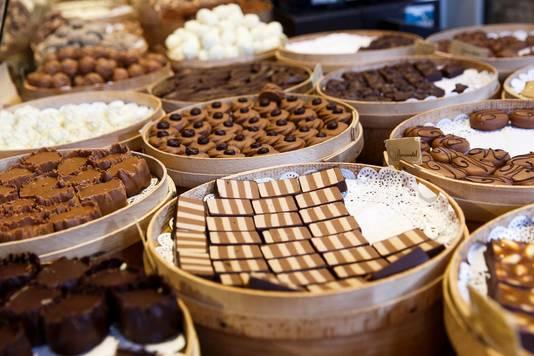 Chocolade van de Bonte Koe.