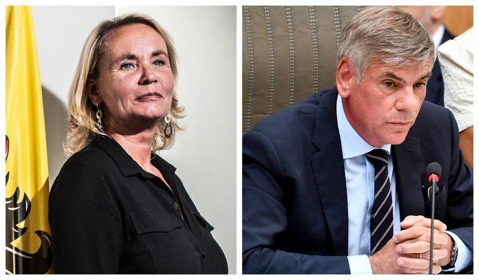 Liesbeth Homans avait dû céder sa place à Filip Dewinter, qui a dirigé la séance en tant que député ayant le plus d'ancienneté.