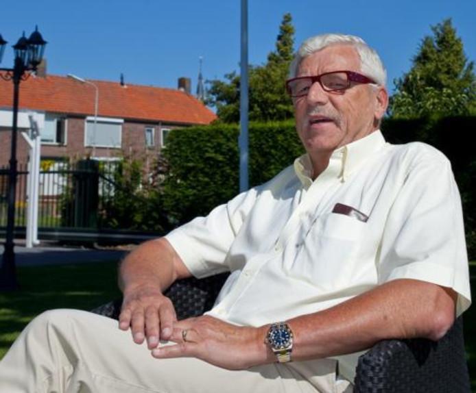 Henk Zwartelé, voorzitter van vv Goes.