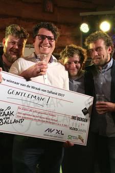 Gentlemen uit Zwolle wint 'Wraak van Salland'