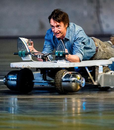 Top Gear-presentator Richard Hammond in Rotterdam voor nieuwe serie