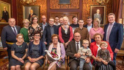 Achille en Hedwige vieren 60-jarig jubileum