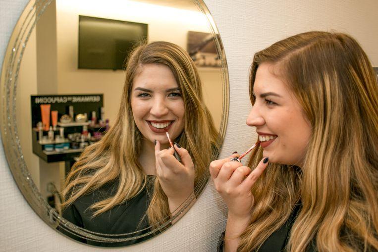 Nina De Wael: negentien jaar jong en al 'schoonheidsspecialiste van het jaar'.