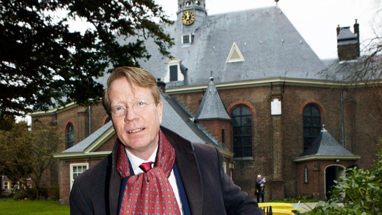 Dominee Ad van Nieuwpoort. Beeld Dirk jan van der Burg