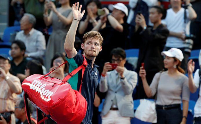 Plus de 600 jours après son dernier match officiel au pays, David Goffin retrouve le sol belge, ce soir, à Anvers, où il est l'un des favoris du tournoi.