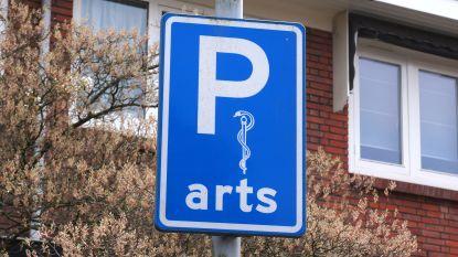 Dokters vragen voorbehouden parkeerplaatsen
