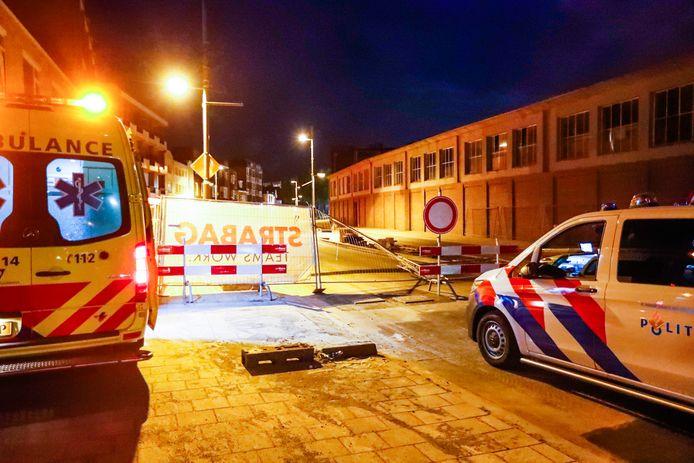 Man naar ziekenhuis na ongeluk in Eindhoven.