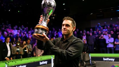 VIDEO. Ronnie O'Sullivan verovert zevende UK Championship-titel en breekt record van Stephen Hendry