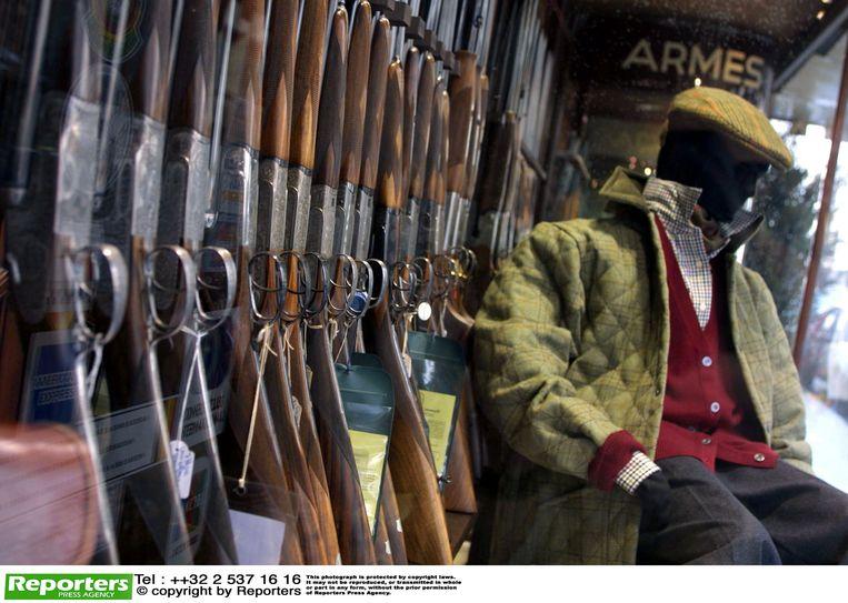 De man vuurde een schot met een jachtgeweer af (archief)