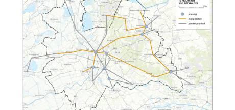 Twee provinciale snelfietsroutes naar Veenendaal