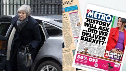 Britten zijn brexit kotsbeu: media liggen amper wakker van cruciale stemming