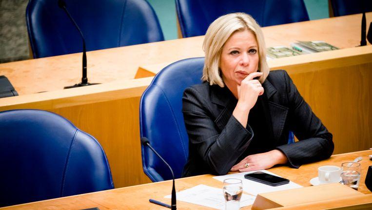 Ook haar eigen partij, de VVD, was uiterst kritisch. Beeld ANP