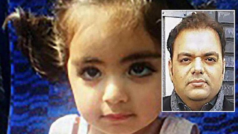 Insiya en haar vader Shehzad Hemani Beeld politie.nl
