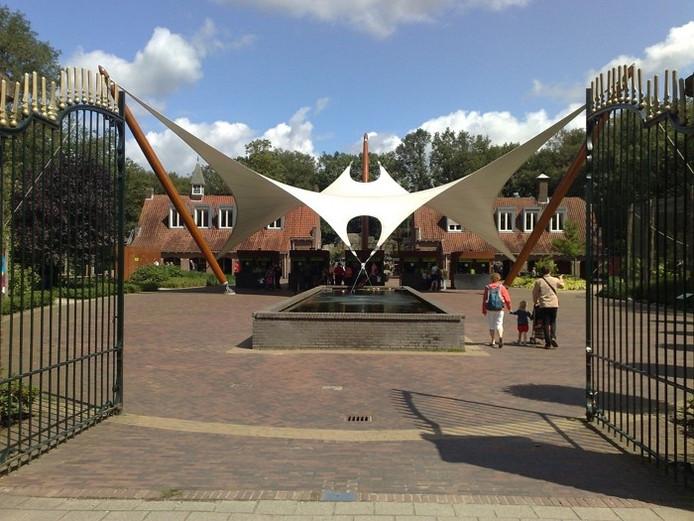 De entree van Ouwehands Dierenpark in Rhenen.