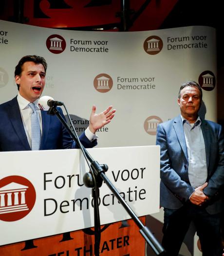Veel vraagtekens in Gelderland rond grote onbekende Forum voor Democratie: 'Het wordt lastig onderhandelen'
