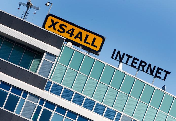 Het kantoor van XS4All in Amsterdam