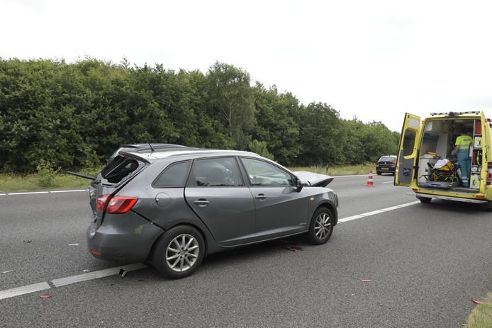 Drie auto's waren betrokken bij een ongeval op de A27.