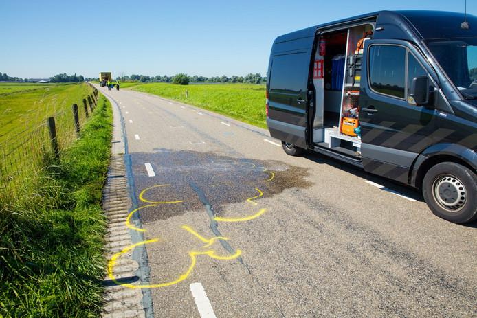 Vrouw uit Tilburg komt om bij ongeval Zalkerdijk.