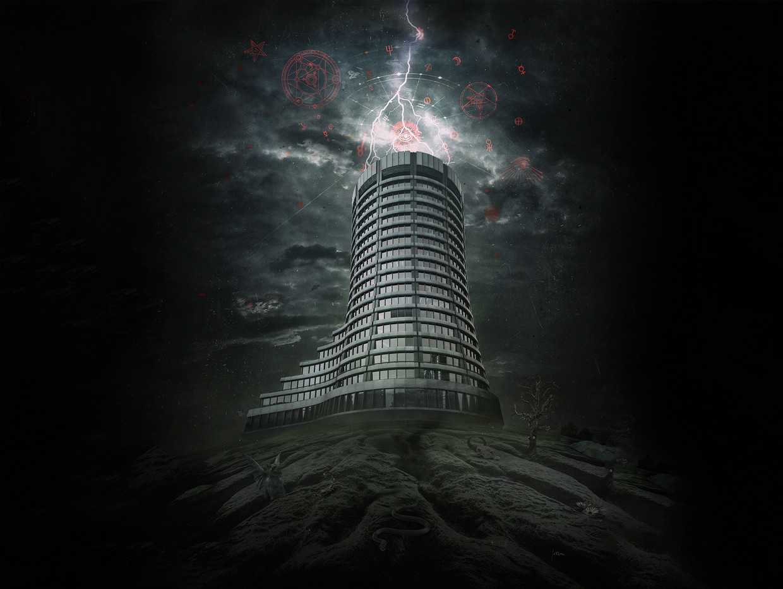 De toren van de Baselse Bank of International Settlements (BIS).