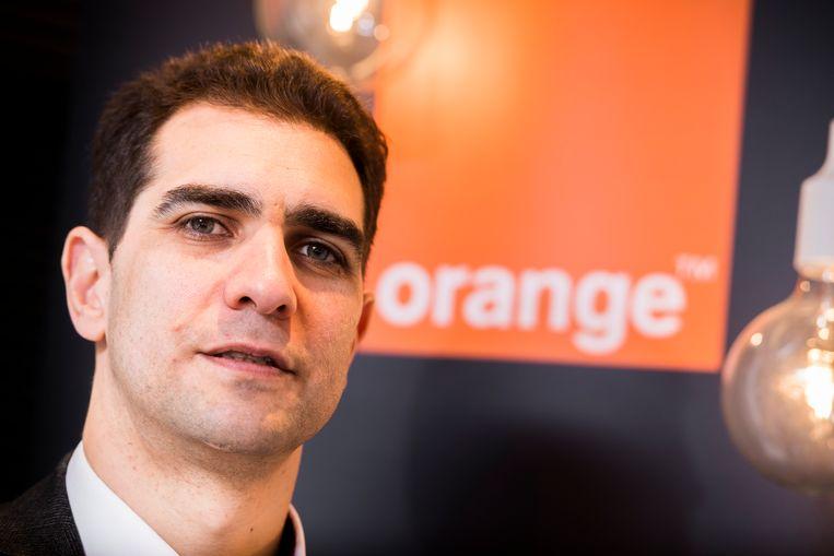 Orange-topman Michaël Trabbia