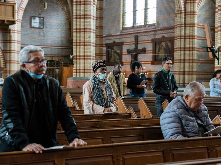 Rooms-Katholieke kerken in Den Haag sluiten opnieuw de deuren vanwege corona