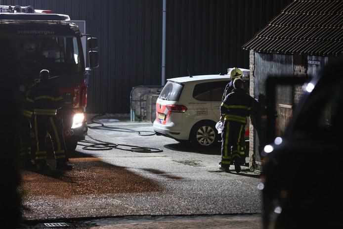 Groot politie-onderzoek in Steenbergen.