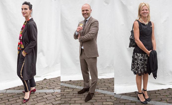 Van links naar rechts: Wilmar Hartman (PTK Business Center in Middelburg), Perry Kentin (reclamebureau LMG Strategie + Creatie in Goes) en Leen Verschraegen (Honorair Consul der Nederlanden voor Oost- en West-Vlaanderen).
