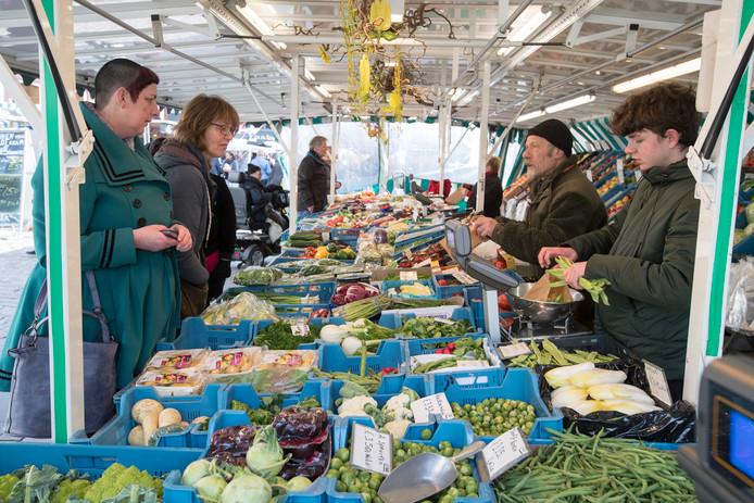 Donderdagmarkt in Zutphen.