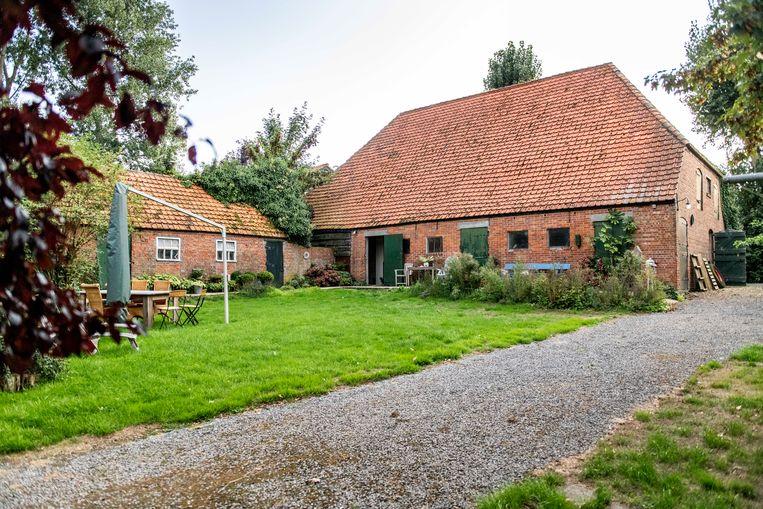 De karakteristieke rode baksteentjes maken de boerderij d'Inlaeghe tot een pronkjuweel. Beeld Foto Boaz Timmermans