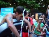 Wereldrecord marathon op loopband.'Het was echt zwaar'