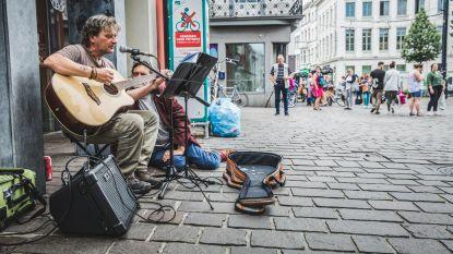 Straatmuzikanten gaan unplugged