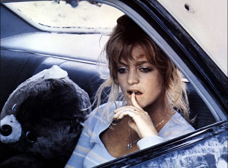 Goldie Hawn als Lou Jean in The Sugarland Express (1974). Beeld null