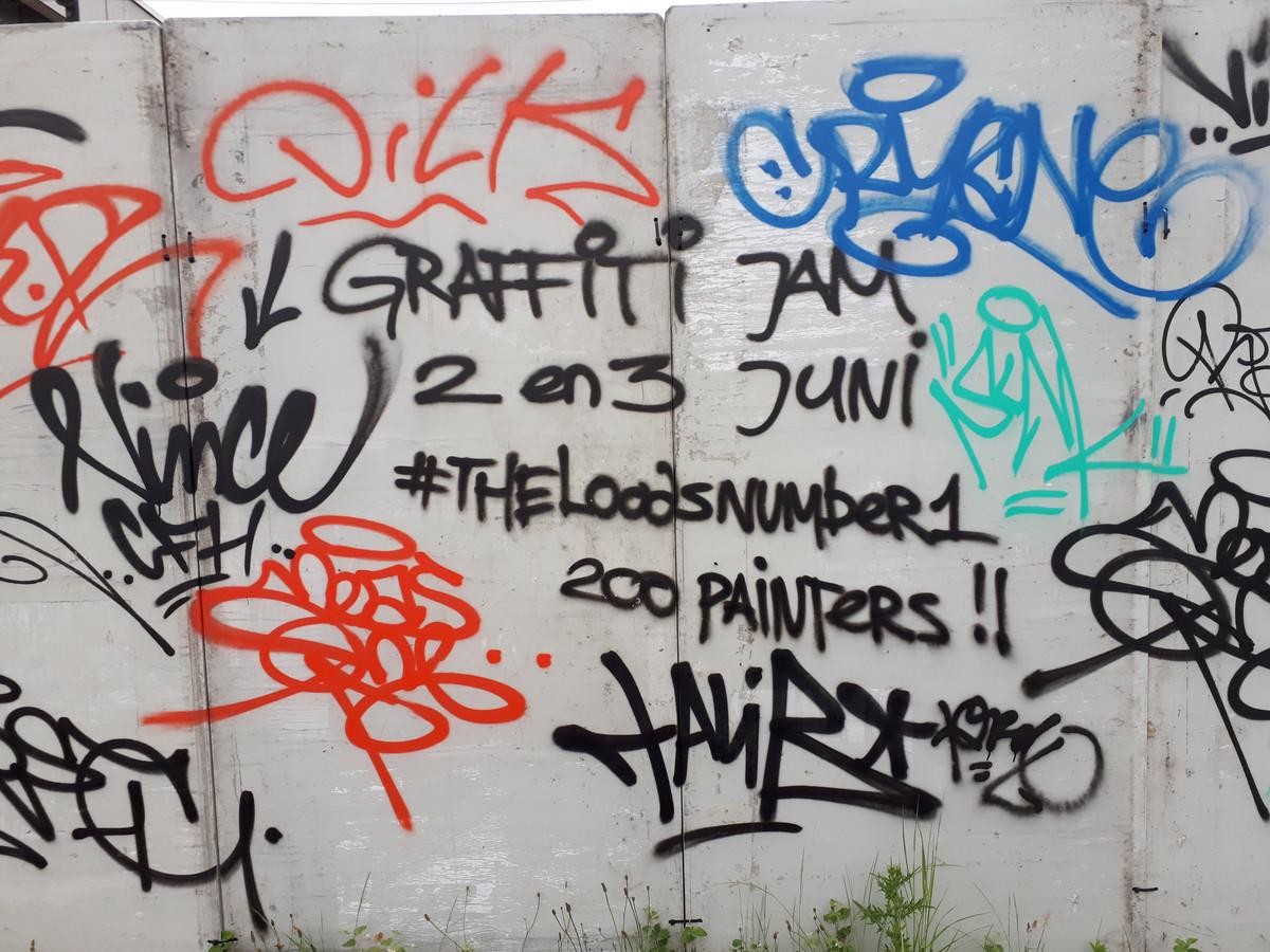 De vierde Graffiti Jam gaat in The Loods aan de  Oostelijkehavendijk in Roosendaal weer groter worden.. Foto Alfred de Bruin