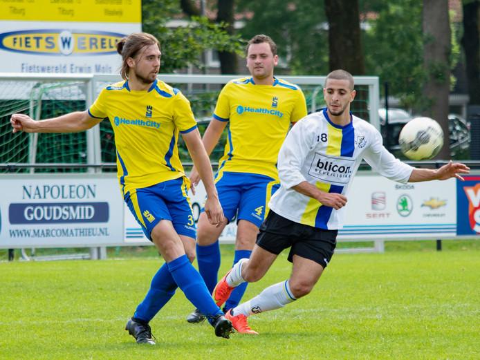 FC Tilburg declasseerde Sarto in de halve finale van de nacompetitie om een plek in de eerste klasse: 5-0.