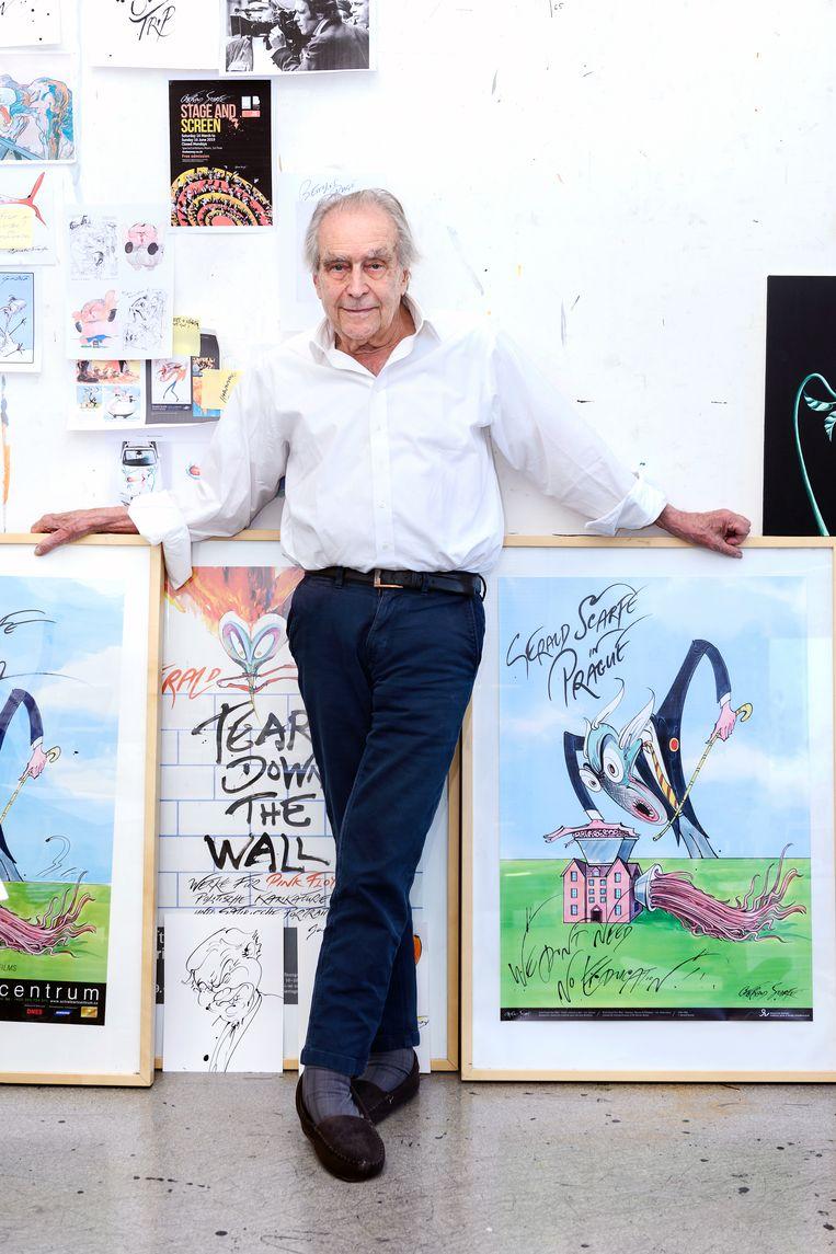Gerald Scarfe. Beeld Els Zweerink