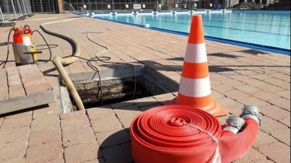 Zwembad Puyenbroeck nog tot zondag dicht: groot lek in aanvoerlijn
