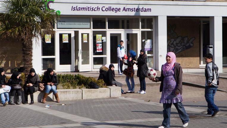 Het in 2010 gesloten Islamitisch College Amsterdam. Beeld anp