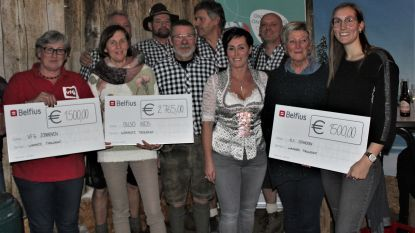 'Tirolerhut' van Zonhoven schenkt 5.765 euro weg
