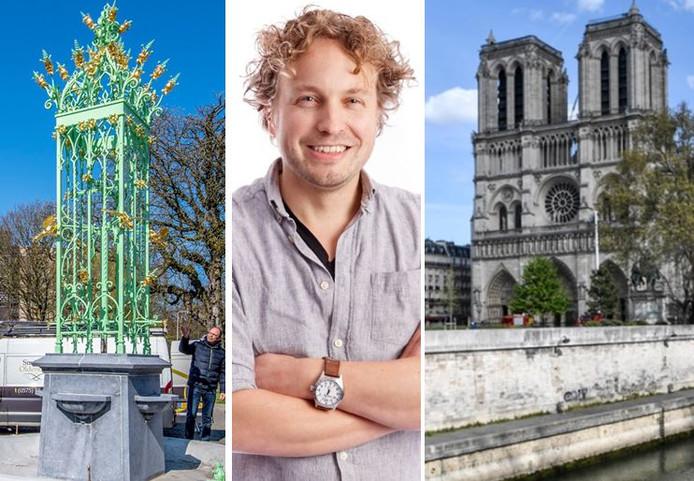 Een Brabantse fontein riep precies dezelfde vraag op als dat kolossale erfgoed in Parijs,  constateert columnist Niels Herijgens