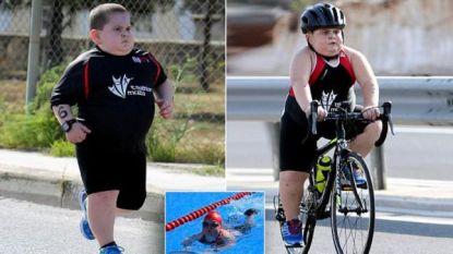 Jake (8) moet triatlons afwerken om in leven te blijven