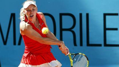 Topreekshoofd Wozniacki geeft op in eerste ronde WTA Straatsburg