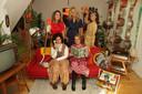 Xandra en haar dochters.