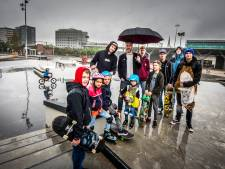 Skatepark Hengelo open: 'Alle generaties komen hier skaten'