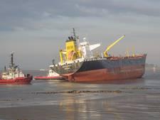 Drie schepen betrokken bij aanvaring in de Bocht van Bath