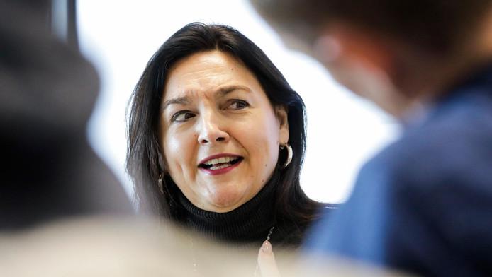 La ministre fédérale de l'Energie, de l'Environnement et du Développement durable Marie-Christine Marghem (MR).