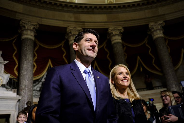 Paul Ryan en zijn vrouw Janna