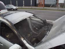 Auto brandt uit op A18 bij Doetinchem