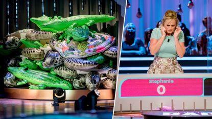 Dit zag je niet op tv: zo neemt kandidate 'Het Rad' 27 opblaasdieren mee naar huis